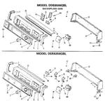 GE DDE5300GCL backsplash 6500,6350 diagram