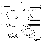 West Bend 82204 replacement parts diagram