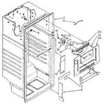 Whirlpool ET18JKXSF07 liner diagram