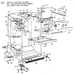 Kenmore 3638799617 cabinet diagram