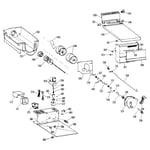 Kenmore 3638500588 ice bucket diagram