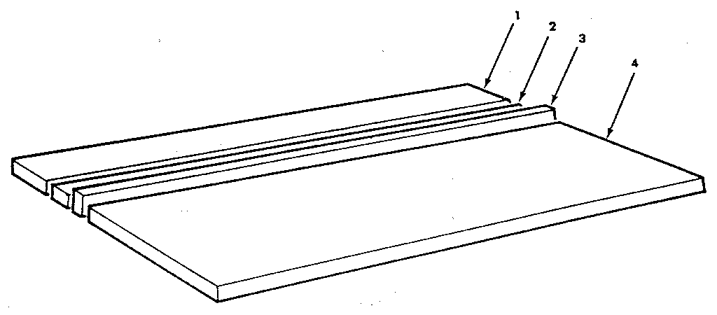 Craftsman 113197610 figure 6 - table assembly diagram