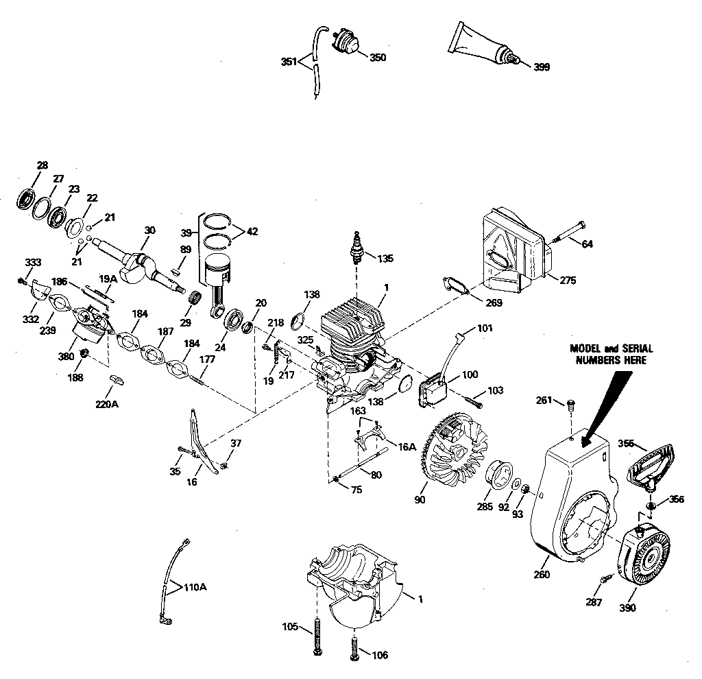 10 hp tecumseh engine diagram