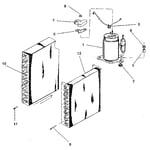 Kenmore 2538784111 evaporator diagram