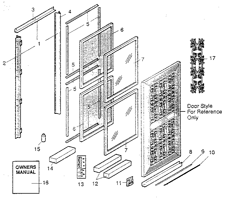 Sears 65665173020 replacement parts diagram