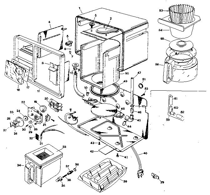 Black And Decker Under Cabinet Coffee Maker Parts