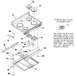 Kenmore 9119369181 main top section diagram