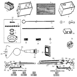 Cozy 90P75 furnace body diagram