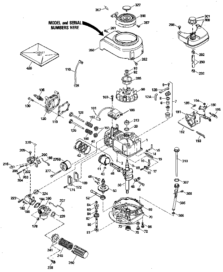 Craftsman 143414332 replacement parts diagram