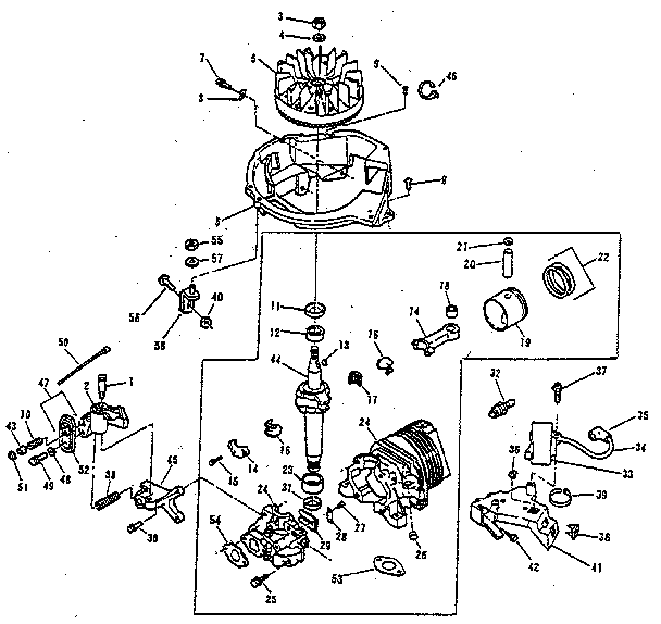 s2048 lawn mower parts diagram free engine image for user manual