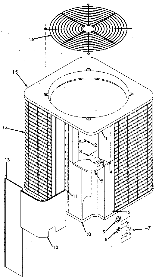 Sears 867803181 non-functional replacement parts diagram