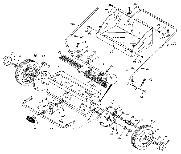 John Deere  pact Tractor Wiring Harness together with John Deere Fuel System Diagram further John Deere Secondary Transmission Variator Pulley Kit MIA12482 as well John Deere L130 Wiring Schematic furthermore Ford Tractor Ignition Switch Wiring Diagram. on john deere lawn tractor diagrams
