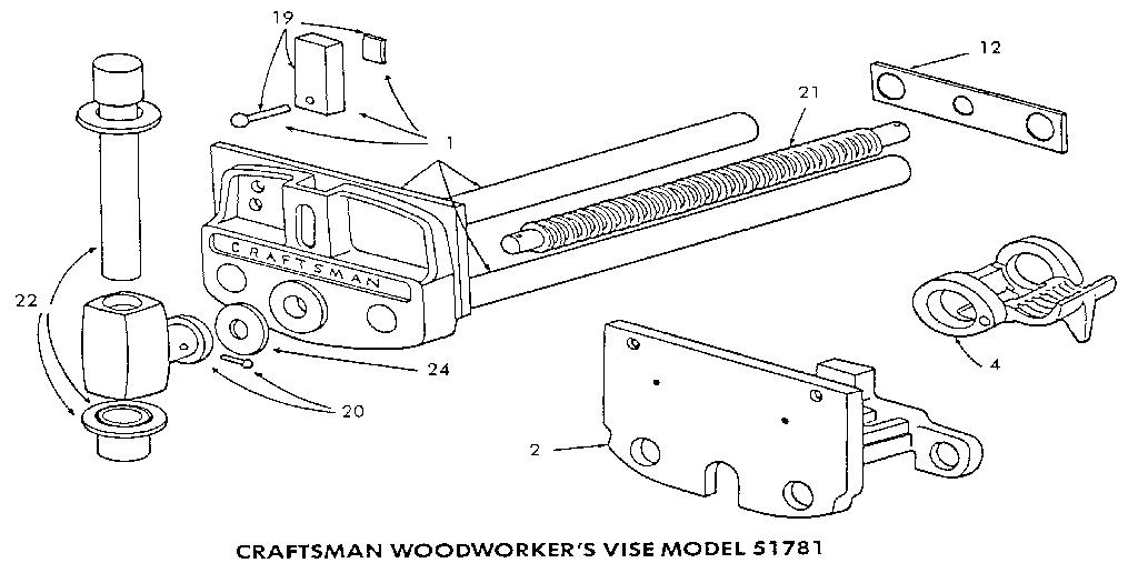 Looking For Woodworking Warren Model 51781 Power Tool Repair