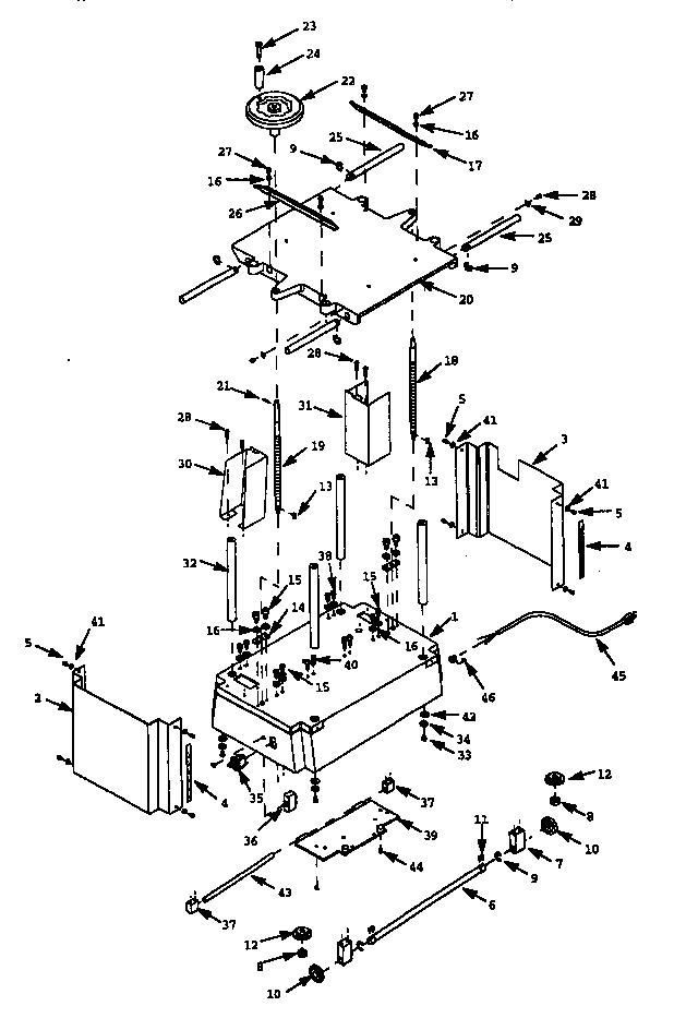 Craftsman  Planer/Molder  Base