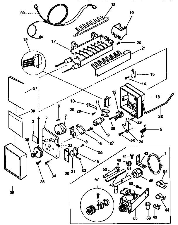 Kenmore  Refrigerator  Icemaker