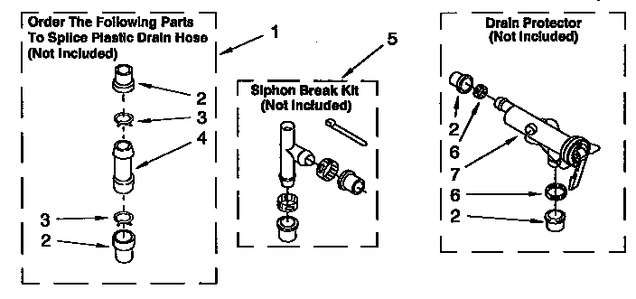 Kenmore 11092593410 water system diagram