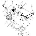 ICP NPGA075G2SA blower diagram