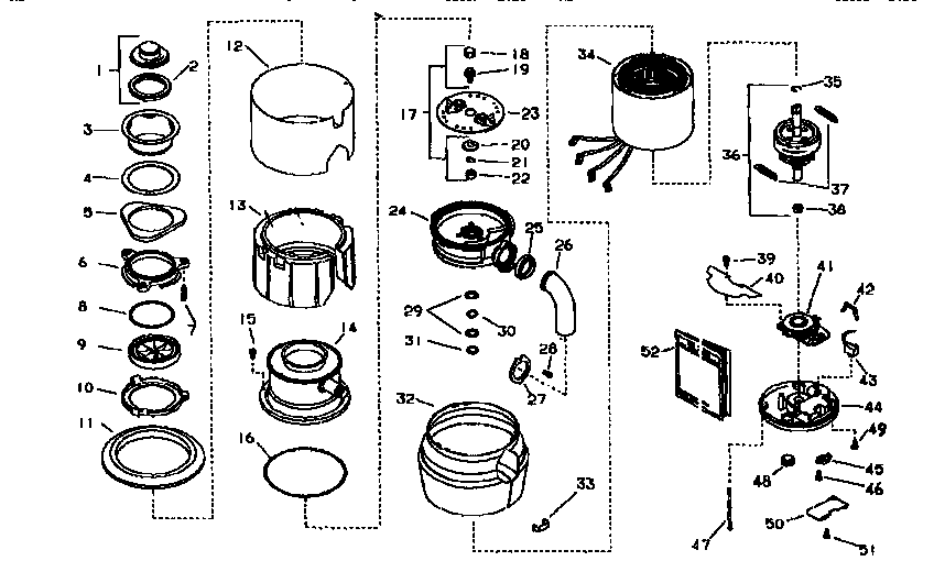 Kenmore 17560503 replacement parts diagram