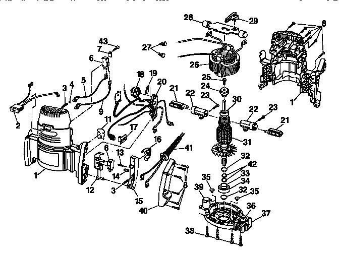 Craftsman Model 315275062 Router Genuine Parts