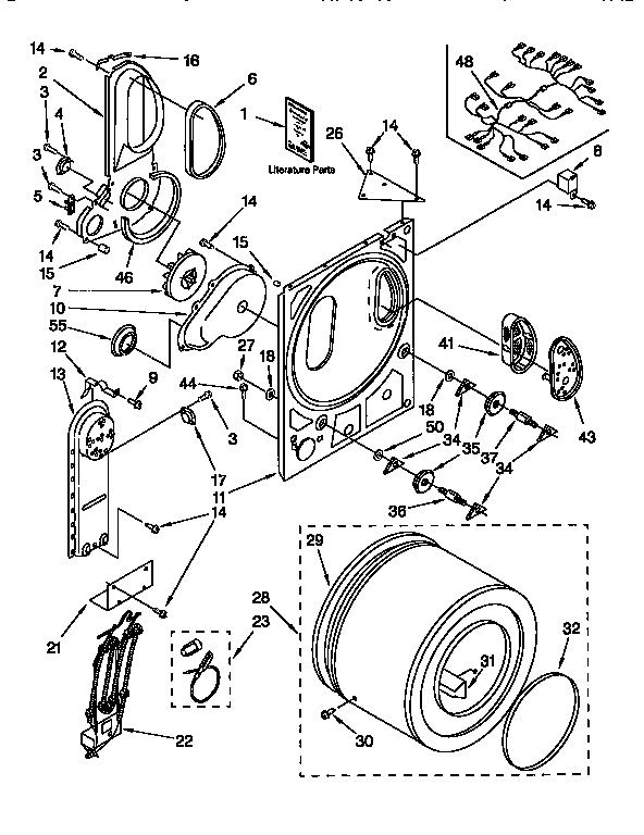 10040674 00001 kenmore electric dryer parts model 11098518210 sears partsdirect on dryer gibson diagram wiring gef331as2