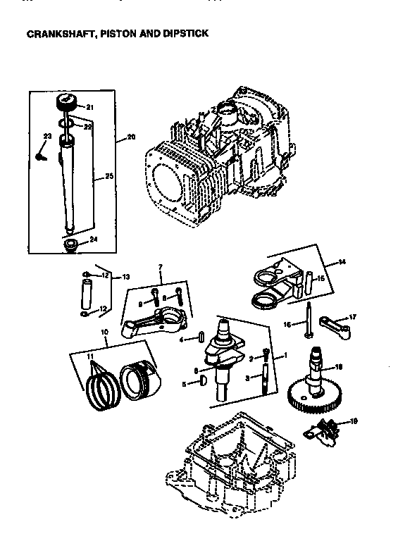 Briggs Stratton Engine Parts