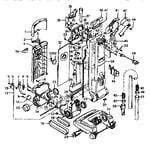Hoover U6335-930 unit parts diagram