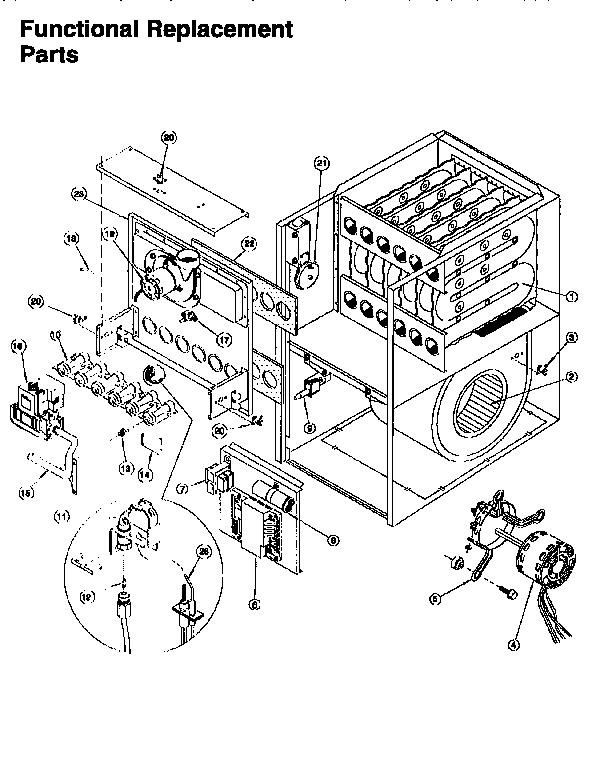 Parts Diagram Parts List For Model Guj075n12c2 Arcoaircomfortmaker