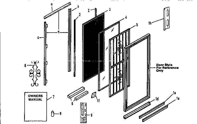 Parts Of Sliding Door Photos Wall And Door Tinfishclematis
