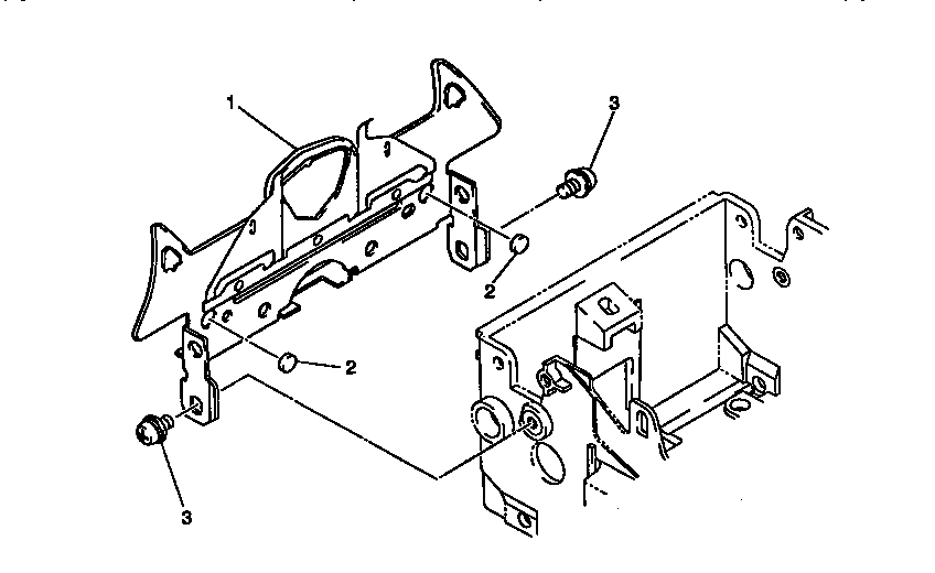 Brother WP5550MDS paper meter assembly diagram