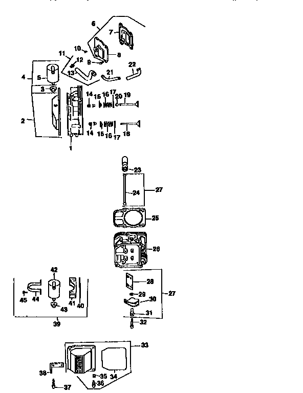 Craftsman 917251561 cylinder head, valve and breather diagram
