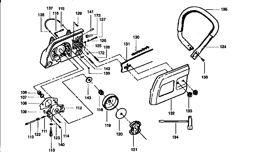 Craftsman Chainsaw Fuel Line Diagram
