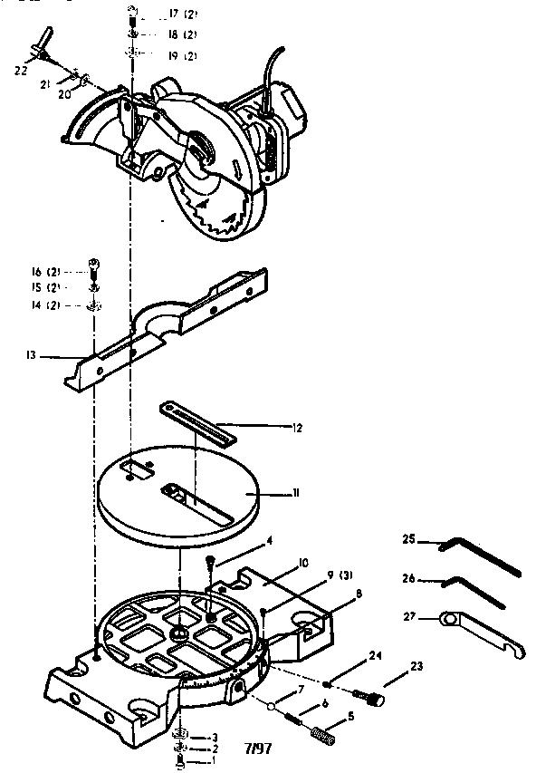 delta 8 4 u0026quot  compound miter saw parts