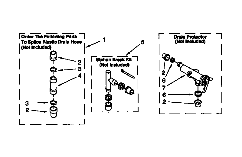 Kenmore 11016872693 water system diagram