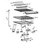 GE TBX22VAZLRWW compartment separator parts diagram