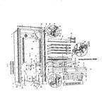 Sub-Zero 201R 201 r cosmetic view diagram