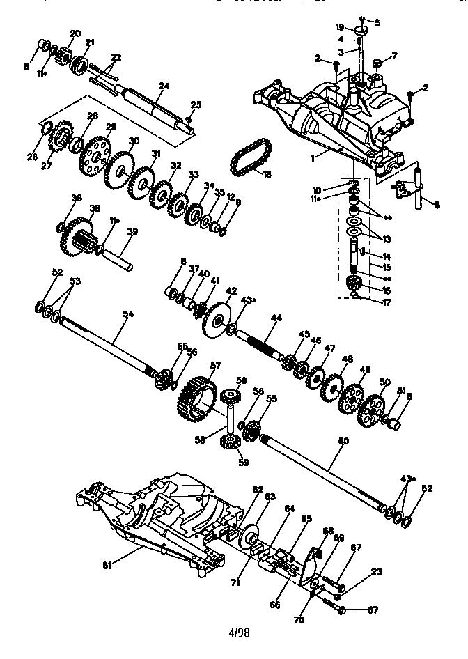 Craftsman Model 917270514 Lawn Tractor Genuine Parts