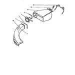 Lawn-Boy 10324-8900001 & UP bagger assembly diagram