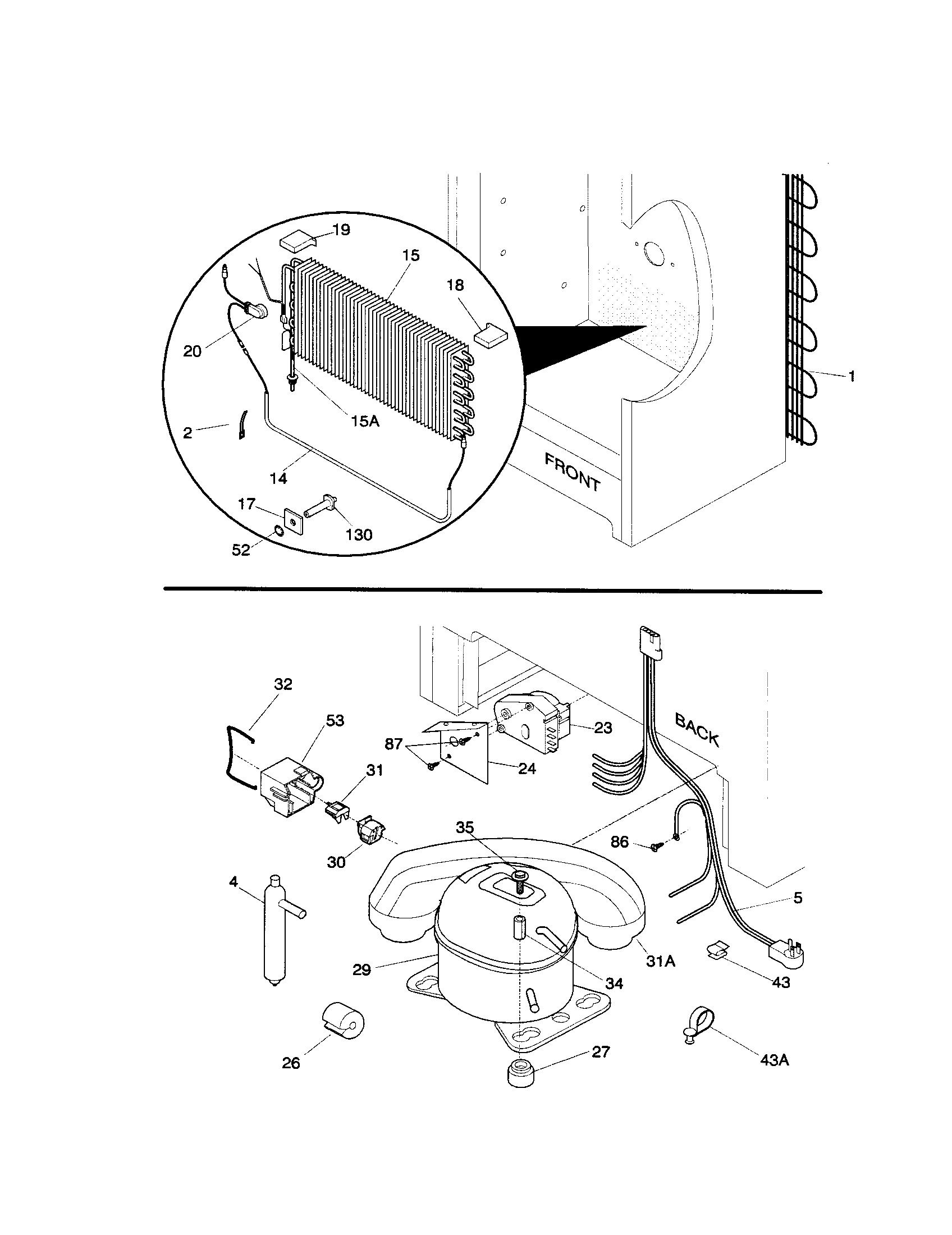 Universal/Multiflex (Frigidaire)  Freezer  System