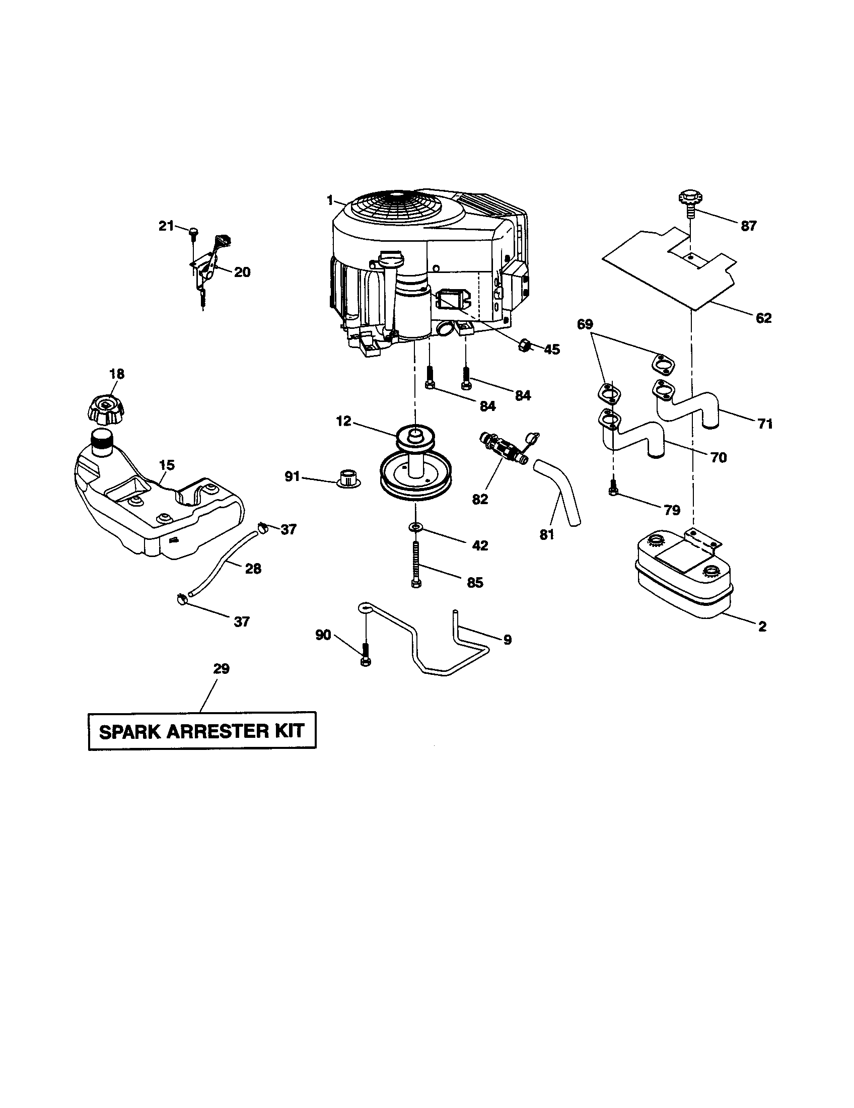 Looking for Ariens model 93604200 front-engine lawn