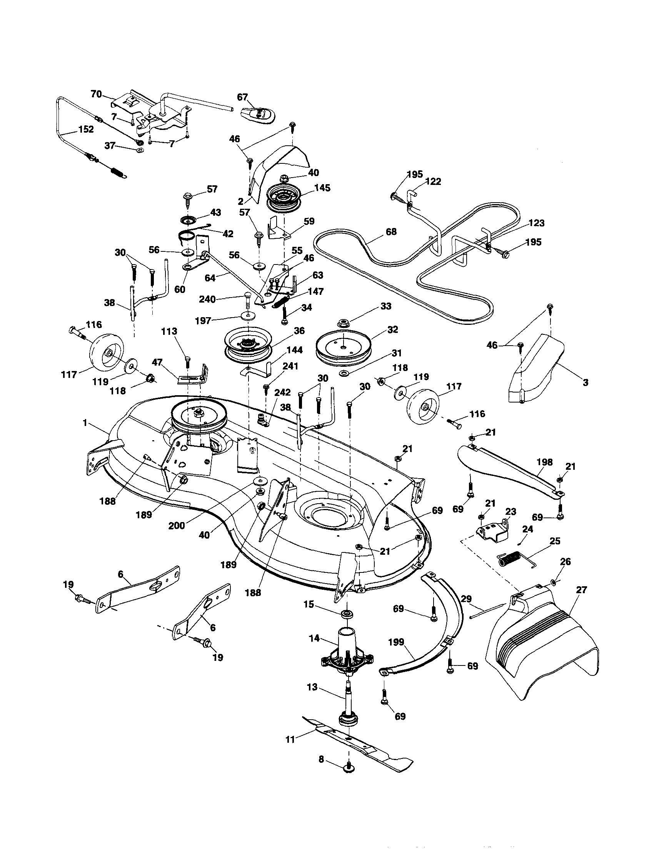 Ariens  Tractor  Mower deck