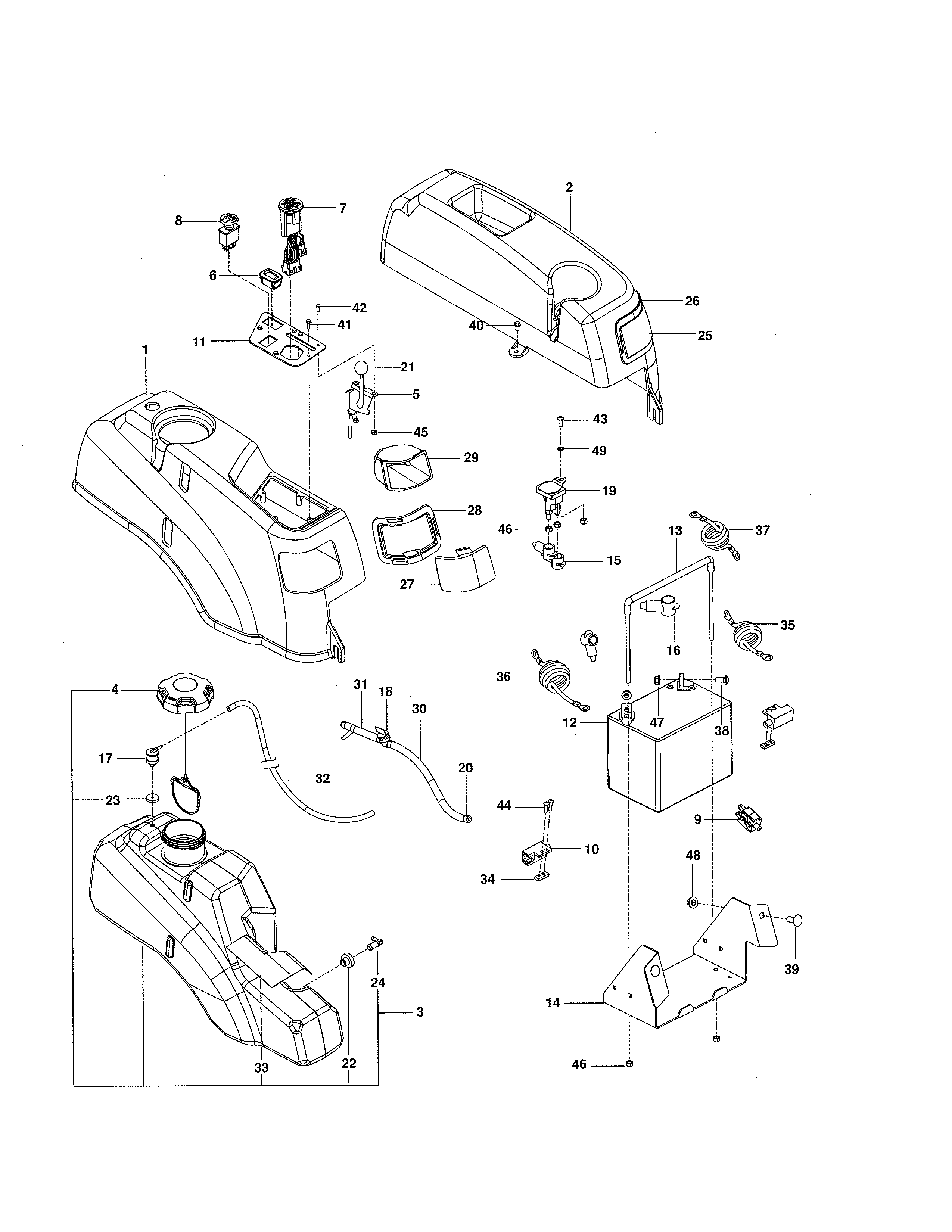 Craftsman  Zero-Turn Riding Mower  Ignition