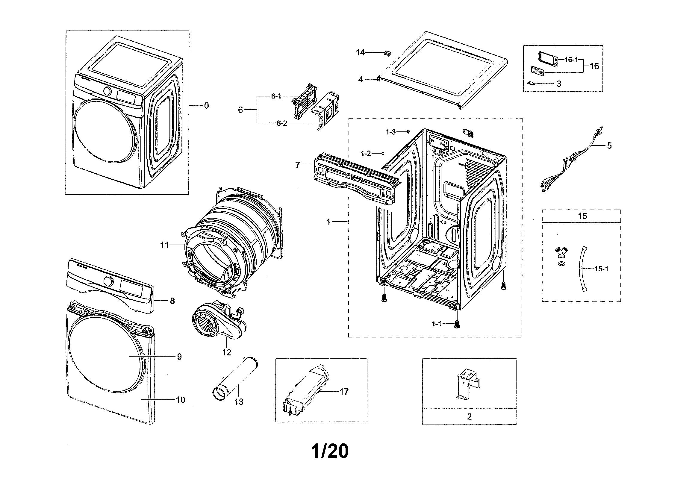 Samsung  Dryer  Main