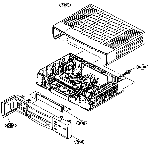 RCA VR652HF cabinet parts diagram