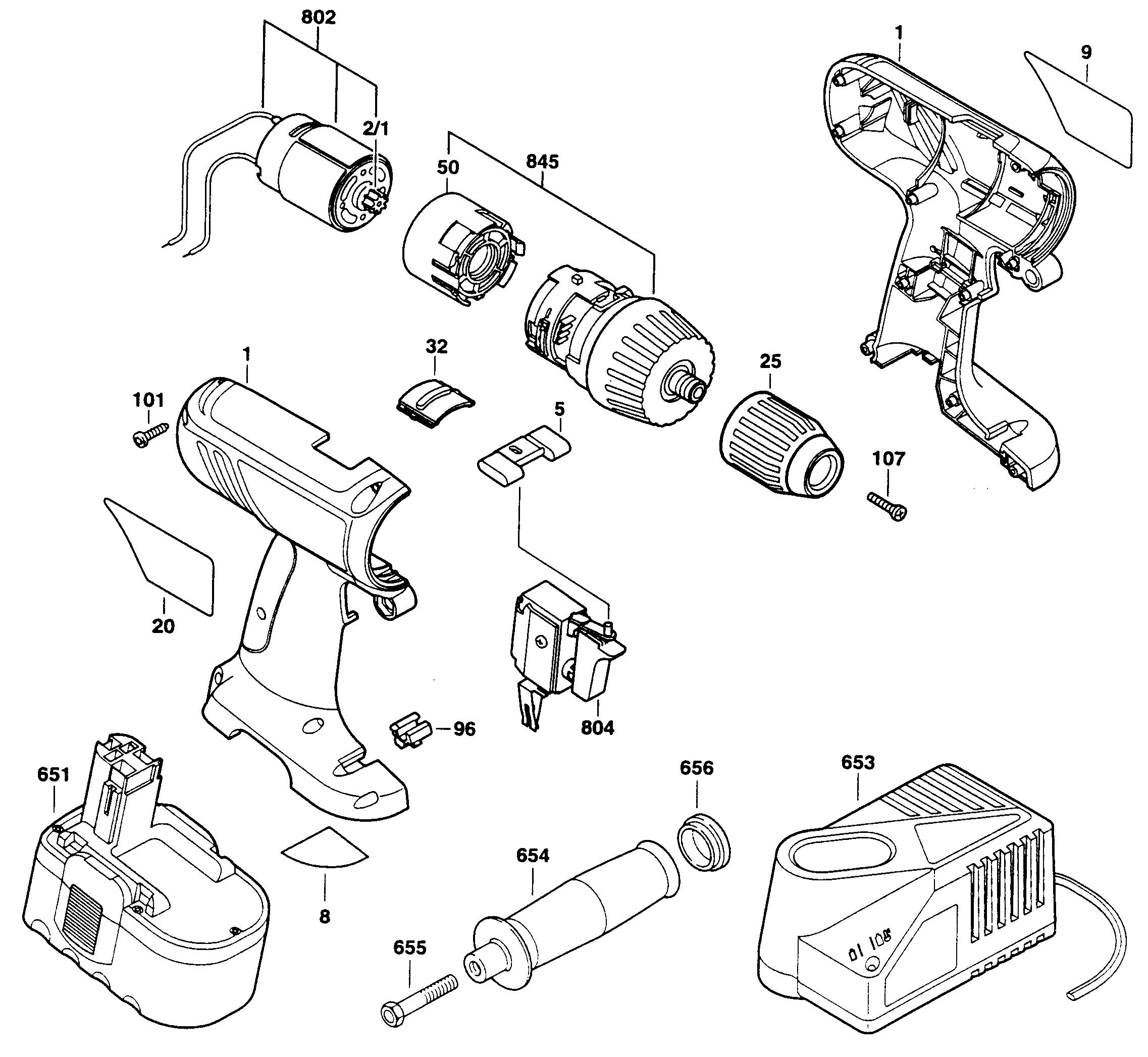 Bosch  Drill  Housing