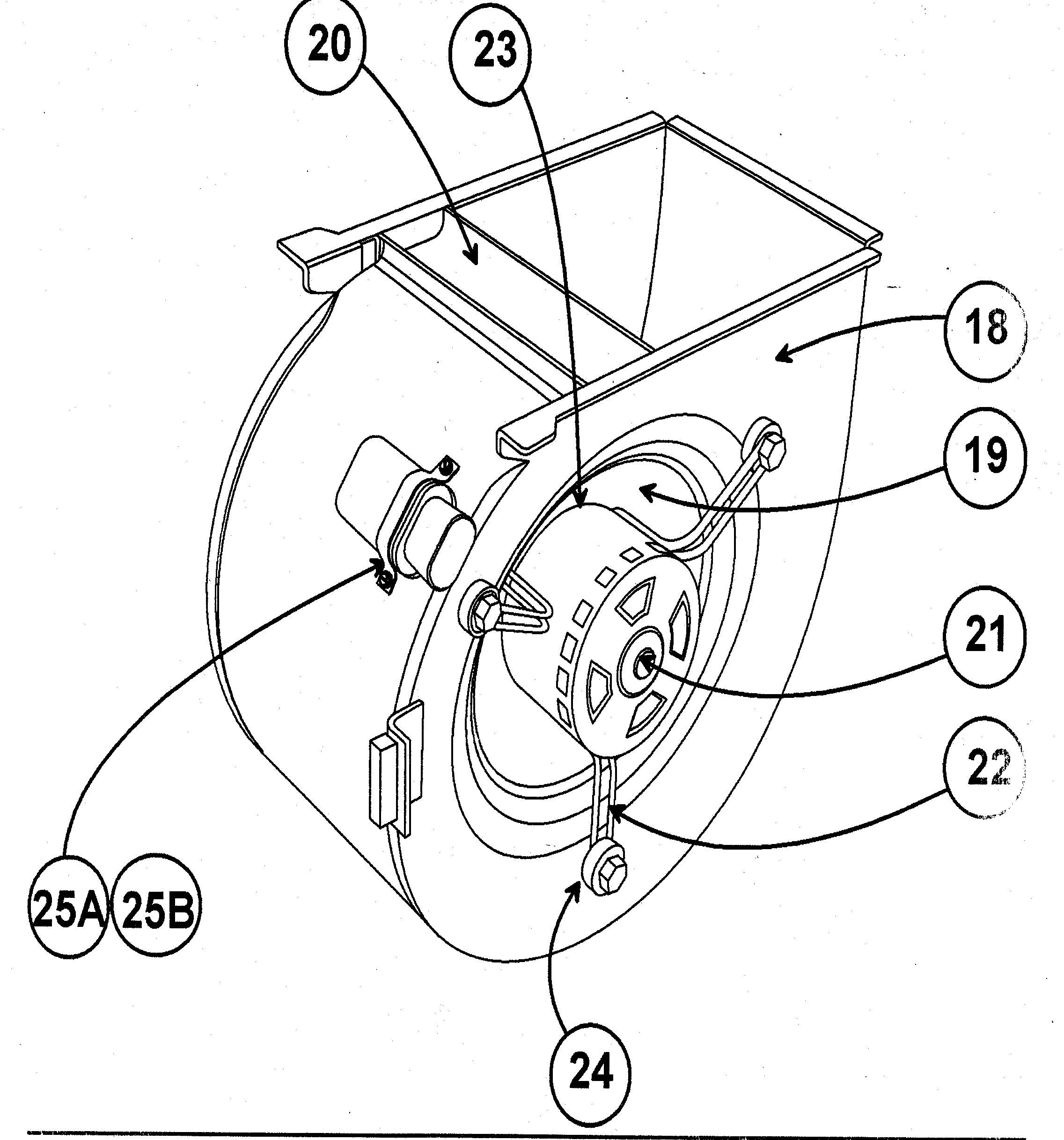 Carrier 58MTA120F10120 blower diagram