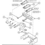 Carrier 48GX060090300 burner assy diagram