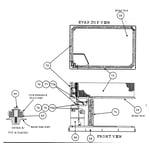 Carrier 48GS024060300 evap top view diagram