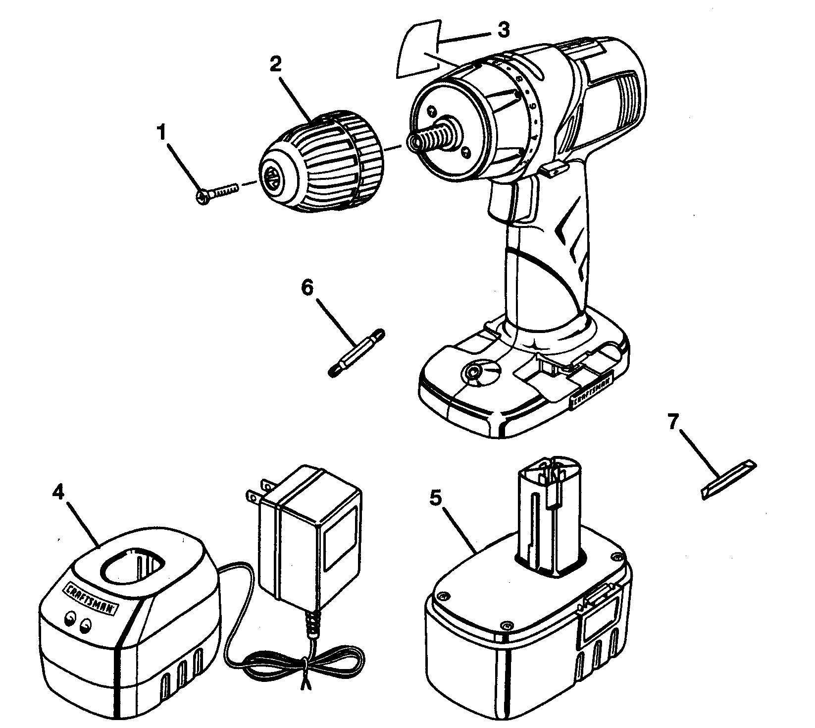 Craftsman 315115340 drill diagram