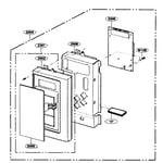 Kenmore 72180409402 controller assy diagram