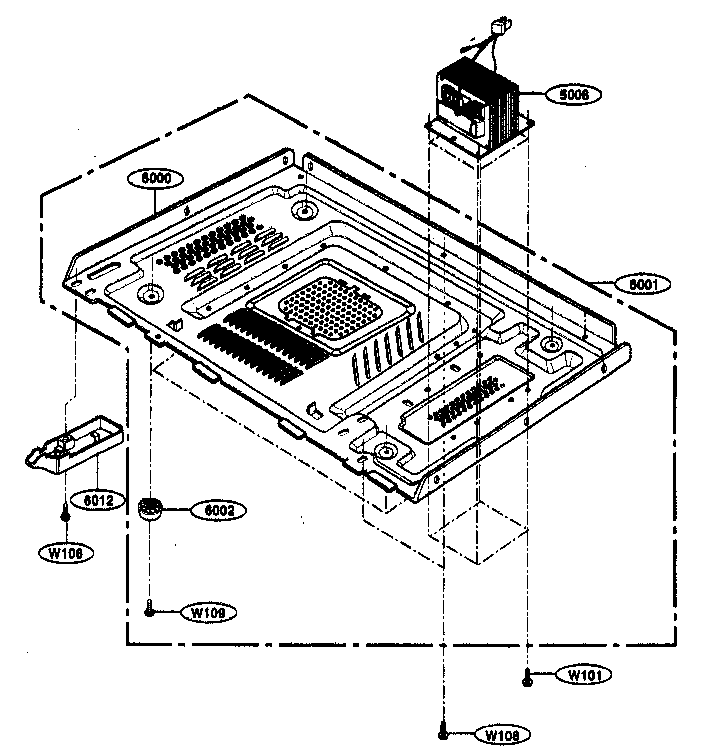 Kenmore 72163299303 base plate parts diagram